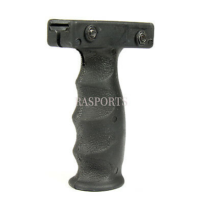BLACK Fore Grip Black Vertical Forward Foregrip For Picatinny Front Rail