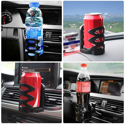 Car Van Drink Cup Holder Stand 360° Universal Air Vent Mount Beverage Bottle Can
