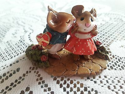Wee Forest Folk M-192 First Kiss  ONE YEAR ISSUE in Mint Condition