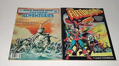 Marvel Graphic Novels Issues Bizarre Adventures(No.26) and Futurians(No.9)