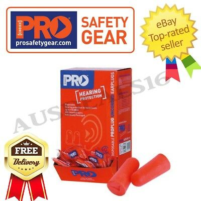 Uncorded Earplugs Disposable Ear Plugs Pair Hearing Protection Pairs Cord 200pk