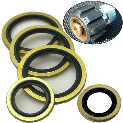 Dowty Seals Washers BSP Hydraulic Fuel Oil Petrol Seal Washer Quality 2/10/20Pc