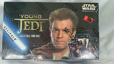 Star Wars Young Jedi CCG Sealed Booster Box