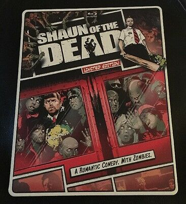 Shaun of the Dead (Blu-ray/DVD, 2013, 2-Disc NO DIGITAL COPIES)