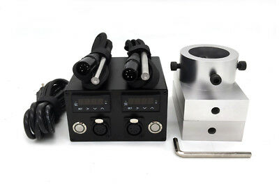 """3x5"""" Rosin Press Plate Kit with heating rod Dual PID Free shipping by DHL"""