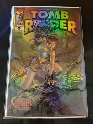 Tomb Raider #2 (1999 Top Cow) Tower Records Exclusive Holofoil Edition NM