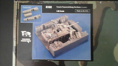 1/35 Trench Panzerstellung Sections #2102 By Verlinden