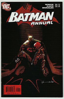 Batman Annual #25 DC Comics 2006 Origin of Red Hood Key Issue 1st Print VF+