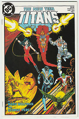 New Teen Titans #1 DC Comics 1984 Marv Wolfman George Perez ~ NM