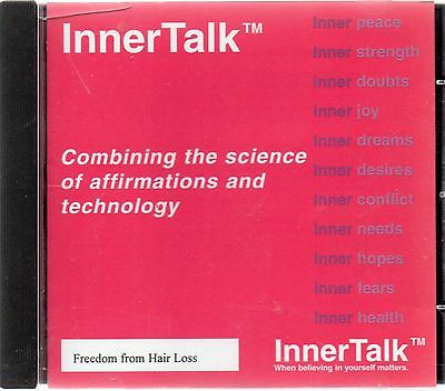 Freedom From Hair Loss - InnerTalk self help programme (audio cd)