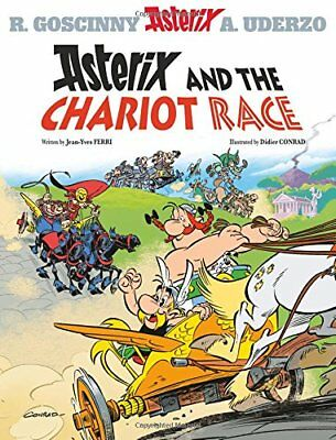 Asterix and the Chariot Race Album 37 by Jean-Yves Ferri Hardback Book New