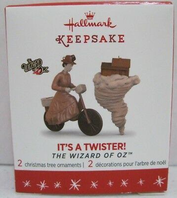 Hallmark 2016 IT'S A TWISTER The Wizard of Oz Limited Edition Miniature Ornament
