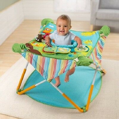 Baby Jumping Bouncer Seat Stand Infant Child Portable Pop Up  Jump Folding Girl