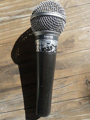 Vintage Shure SM58 Mikrofon (Made in U.S.A - Dual Impendance 38+150 Ohm)