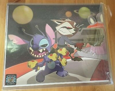 NEW Rocket & Stitch Print Comic Con Box
