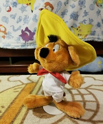 "1997 Looney Tunes Approx 10"" Speedy Gonzales Plush By ACE #13611"