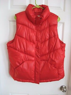 Red Puffer Vest - Size XL - Old Navy