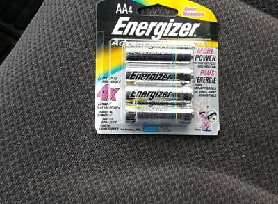Energizer advanced lithium AA batteries 4 pack