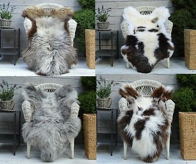 Sheepskin Rug Very Rare Breed Shorthaired 100% Genuine Leather & Natural Colour