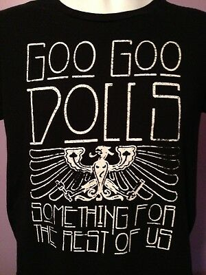 Goo Goo Dolls Concert T-Shirt Something For the Rest of Us Tour 2011 Size S