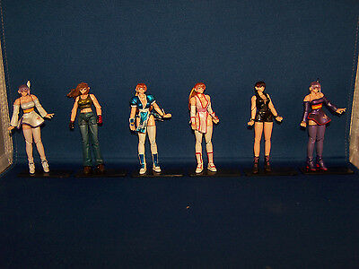 Dead Or Alive Complete Set Of 6 Trading Figures