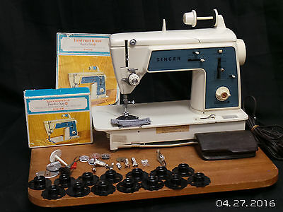 Singer Touch & Sew 638 Heavy-duty Sewing Machine Leather Upholstery Denim