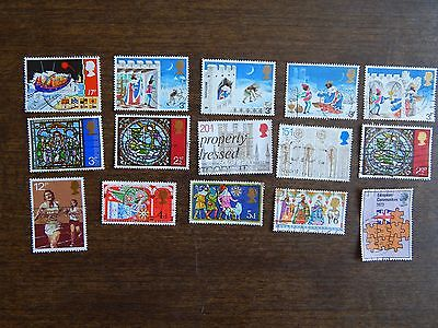 Excellent Great Britain Stamps Collection Used Great Condition lot 538