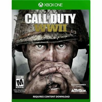CALL OF DUTY WW II ww2 Xbox One, Brand New, Factory Sealed.