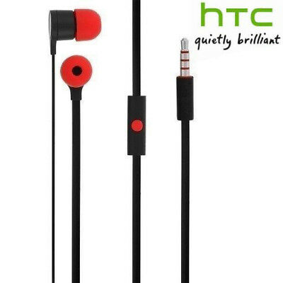 New 3.5mm Stereo Earphone Headset With Remote Mic for HTC One M9 M8 M7 Max