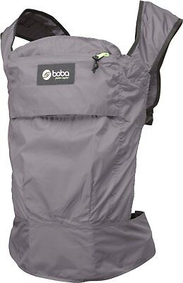Boba Air Ultra Lightweight Baby Carrier Sling Gray Storage Pocket 15-45 lbs New