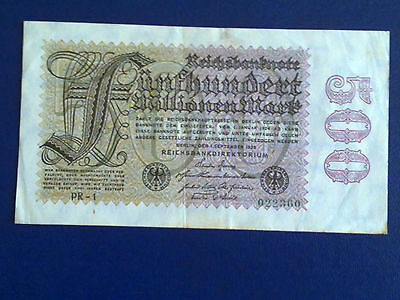 Germany - 500 Million Mark 1923 - Very Fine