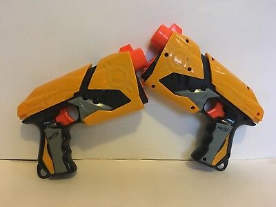 Nerf Dart Tag Sharp Shot Single Shot Blaster Pistol Soft Dart Gun (Set of 2)