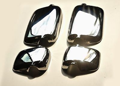 MAN TGA Mirror Covers Super Polished Stainless Steel 4 Pcs