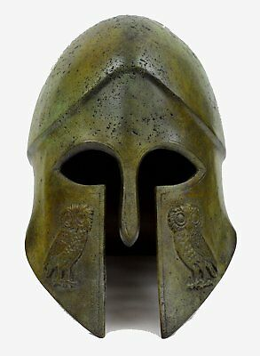 Corinthian Bronze helmet with Owl Design - Ancient Greece