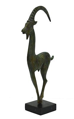 Wild Goat bronze figure - Symbol of God Pan