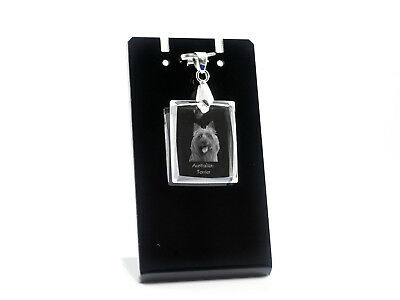 Australian Terrier, Dog Crystal Necklace, High Quality, Crystal Animals CA