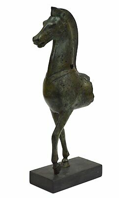 Horse sculpture ancient Greek bronze statue - Acropolis museum reproduction