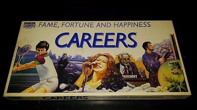 1978 CAREERS Board Game Parker Brothers