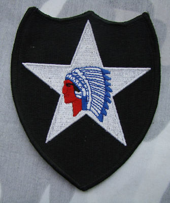 Ww2 Wwii Us Army 2Nd Infantry Division Soldier Shoulder Military Patch