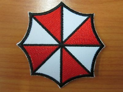 Resident Evil Large Size Umbrella Corporation Embroidered Corporation Logo Patch
