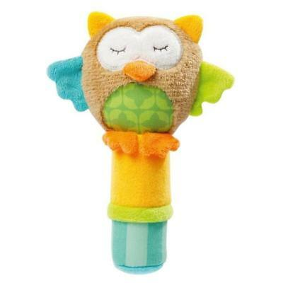 BABYSUN Hochet Calin Hibou - Sleeping Forest
