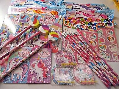 6 x Unicorn Party Bag Fillers Great Choice !!     Perfect Party Bag Fillers