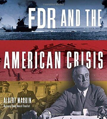 FDR and the American Crisis by Albert Marrin (Hardback, 2015)