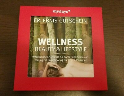 Mydays Geschenkbox, Wellness, Beauty & Lifestyle