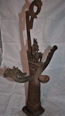 """orig $499-LETI WELL CARVED ALTAR EARLY 1900S 20"""""""