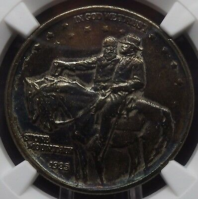 1925 Stone Mountain Commemorative Half Dollar NGC graded AU Details