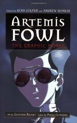 Artemis Fowl: The Graphic Novel by Eoin Colfer, Andrew Donkin (Paperback /...