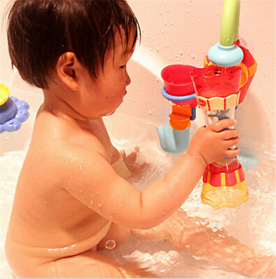 Bath Swim Toy Water Whirly Wand Cup Beach Toy For Toddler Baby Children GiftRSUJ