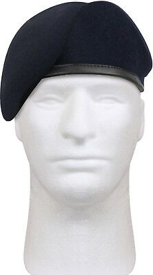 f90be240 Military US Army Pre-Shaved Inspection Ready No Flash Wool Beret cap1