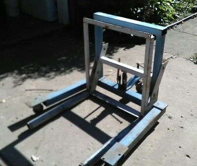 OTC 1770A Dual Wheel Dolly Lift. LQQK! No Reserve. Works Great!
